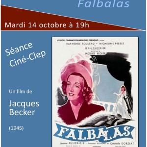 """Ciné-CLEP : """"FALBALAS"""" mardi 14 octobre à 19h"""