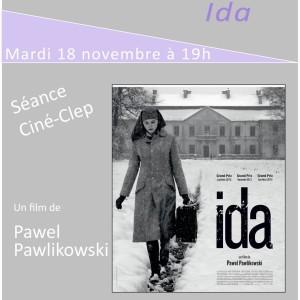 """Ciné-CLEP : """"IDA"""" mardi 18 novembre à 19h"""