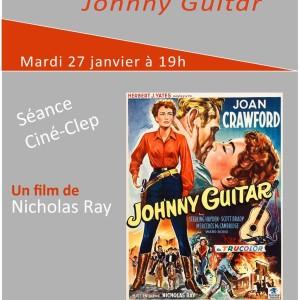 """Ciné-CLEP : """"JOHNNY GUITAR"""" mardi 27 janvier 2015 à 19h"""