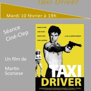 """Ciné-CLEP : """"TAXI DRIVER"""" mardi 10 février 2015 à 19h"""
