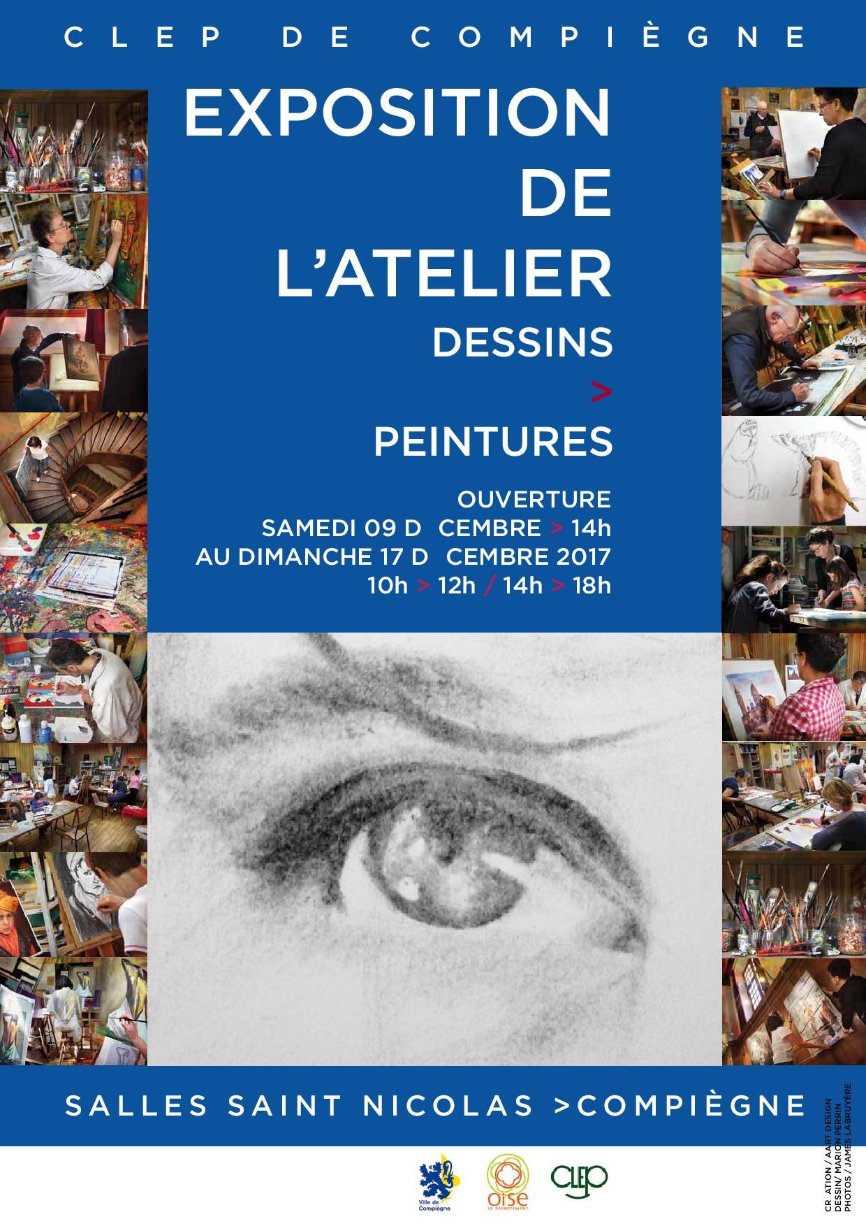 Exposition de l'atelier Dessin et Peintures